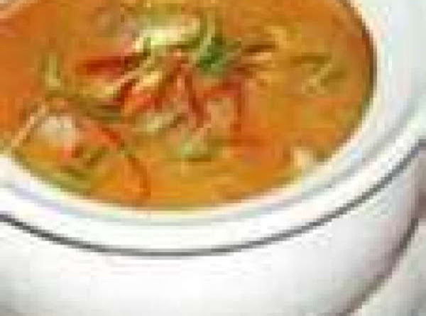 Sw Red Curry Chicken Vegetable Soup Recipe