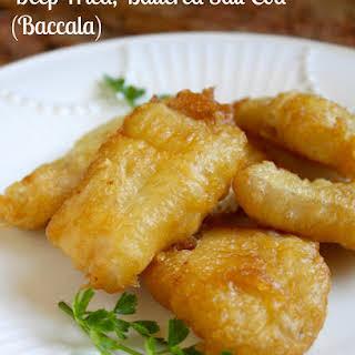 Deep Fried, Battered Salt Cod (Baccalà).