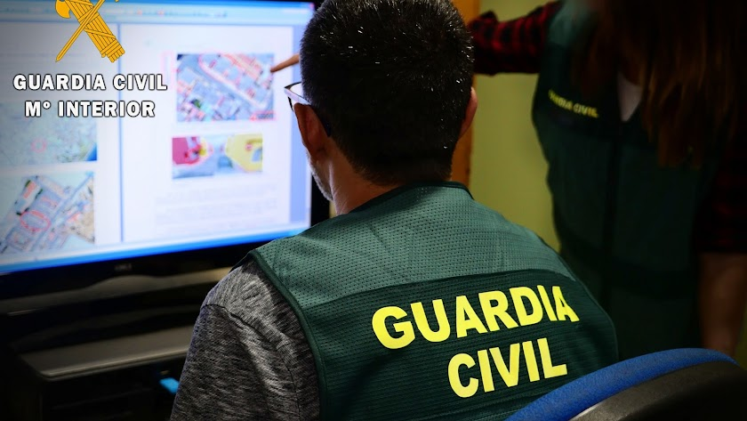 La Guardia Civil ha detenido a nueve personas.