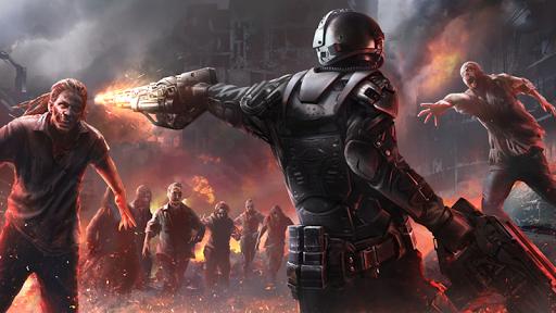 Zombie Shooter Hell 4 Survival  captures d'u00e9cran 1