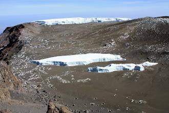 Photo: The Furtwangler Glacier (in 2 parts)