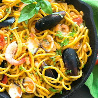 Quick Seafood Fresh Pasta.