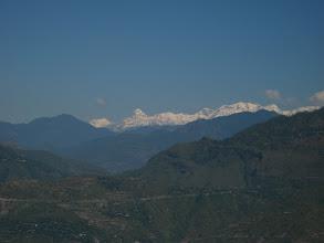 Photo: Wide range of himalaya, seen after Chamba.