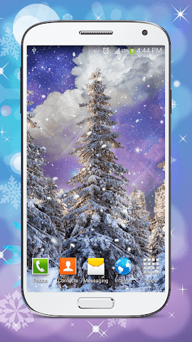 android Hiver Fond D'écran Animé Screenshot 5