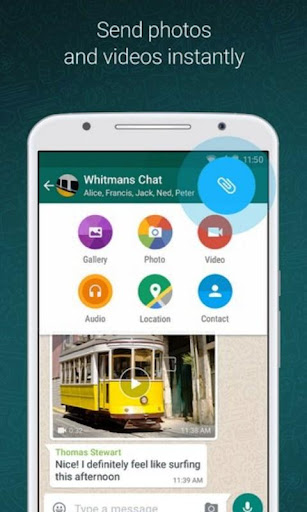 Update WhatsApp Messenger screenshot 2