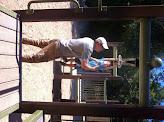 Photo: Grandpa and Finn Playground