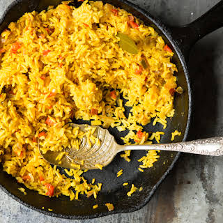 Yellow Rice With Vegetables Recipes.