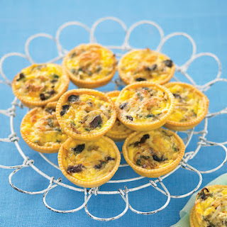 Mediterranean Mini Quiches