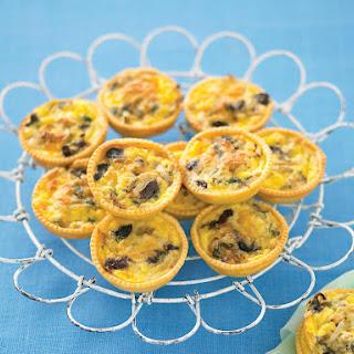 Mediterranean Mini Quiches.