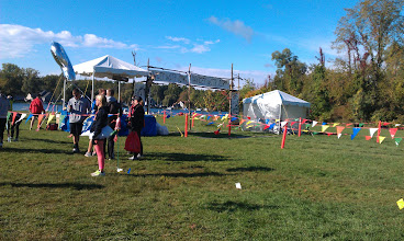 Photo: The starting/ finish line of Dances With Dirt