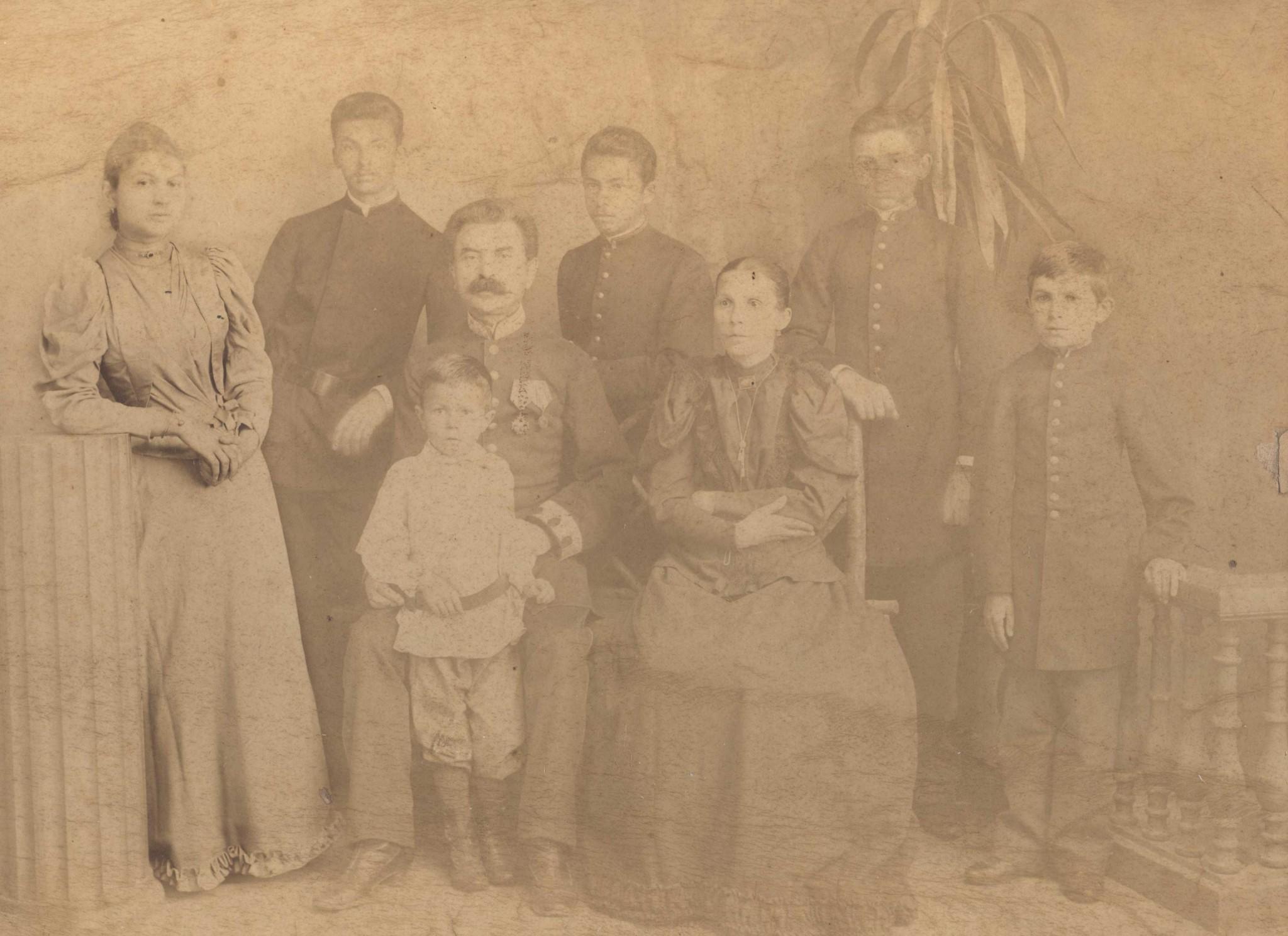 Photo: Хасидович Дмитрий Петрович с семьей