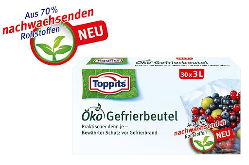 Bild für Cashback-Angebot: Toppits® Öko Gefrierbeutel - Toppits