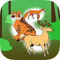Spelling Words Wild Animal icon