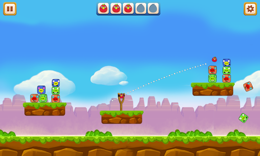 Angry Chicken - Knock Down 2.1 screenshots 3