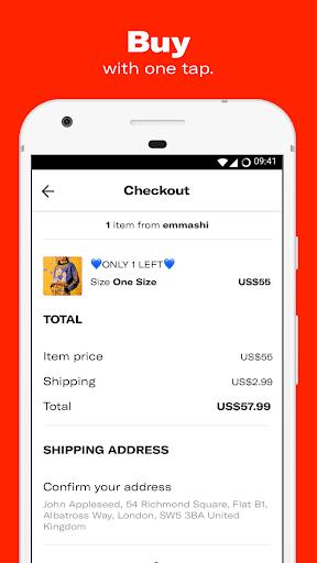 Depop - Shop. Clothing. Sneakers. Streetwear. 2.46.1 screenshots 2