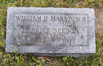 Photo: Marston, William H and Harriet (Beeson)