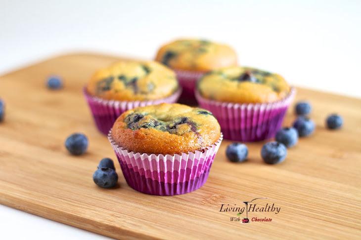 Paleo Blueberry Muffin (Grain Free, Gluten Free, Low Carb) Recipe