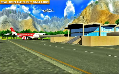 ✈️ Fly Real simulator jet Airplane games- screenshot thumbnail