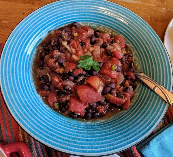 Black Beans A La Olla Recipe