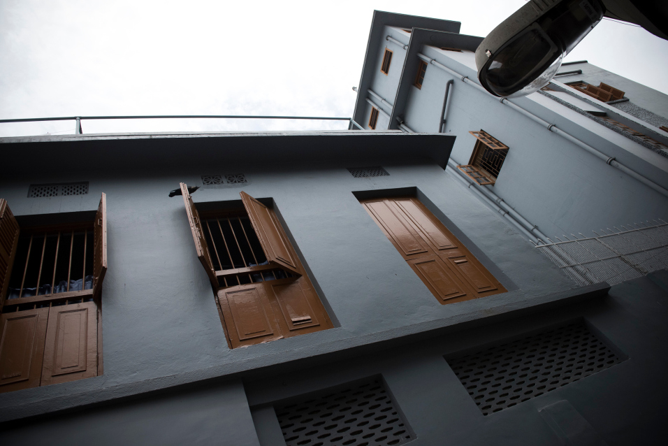 Exterior of the Mother House of the Missionaries of Charity, located at 54A, A.J.C. Bose Road, Calcutta, is the headquarters of the international religious congregation of the Missionaries of Charity. It has been home to Mother Teresa and her sisters from February 1953 to the present day. It is here that Mother lived, prayed, worked, and guided her religious family of sisters spread across the world. It is here that her body was laid to rest.
