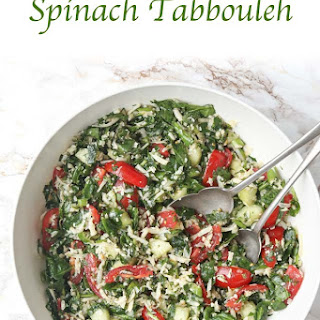 Paleo Spinach Tabbouleh