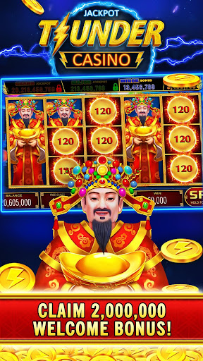 Thunder Jackpot Slots Casino - Free Slot Games screenshots 2