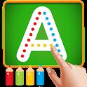 ABCD English Alphabet Writing & ABC Phonics icon