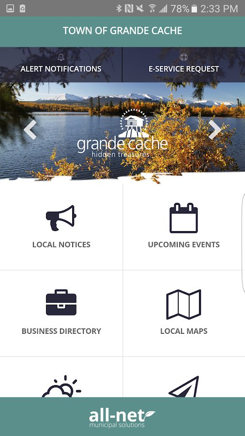 Grande Cache- screenshot