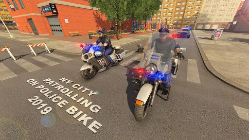 US Police Bike 2019 - Gangster Chase