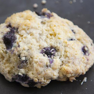 These Blueberry Scones Will Spare Your Waist But Not Your Taste Buds