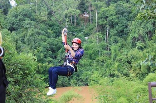 Khu du lịch Madagui đưa khách vào rừng
