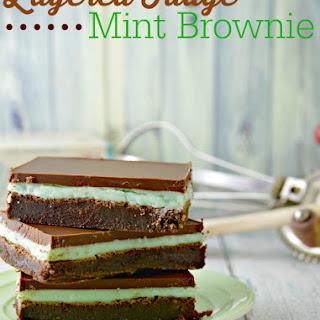 Fudge Mint Brownies.