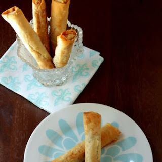 Turkish Cigar Pastry – Savory Spinach and Feta Cigars