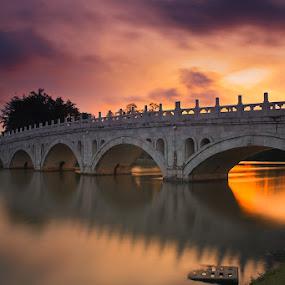 Firestorm Bridge by Chester Chen - Buildings & Architecture Bridges & Suspended Structures