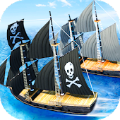 Pirate Ship Boat Racing 3D