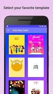 Kitty Party Invitation Maker - náhled