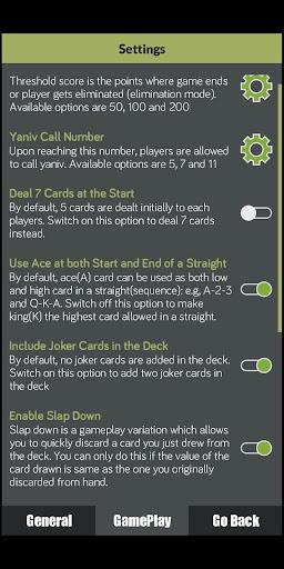 Yaniv Card Game apkpoly screenshots 3