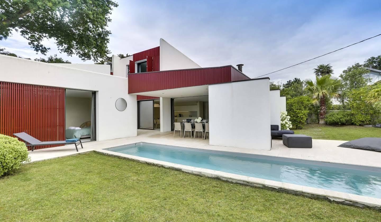 Maison avec piscine et jardin Bidart