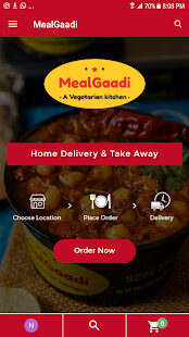 MealGaadi - Late Night Veg Food Delivery in Indore - náhled