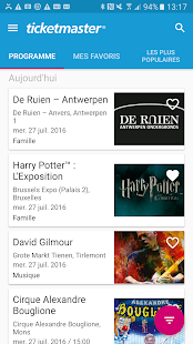 Ticketmaster Belgium- screenshot thumbnail