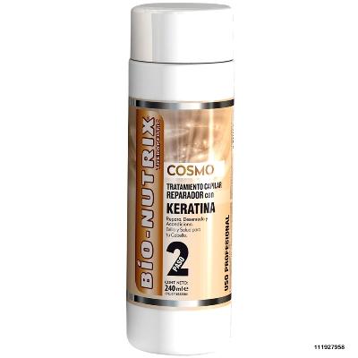 acondicionador bionutrix cosmo reparador c/keratina paso 2 240ml