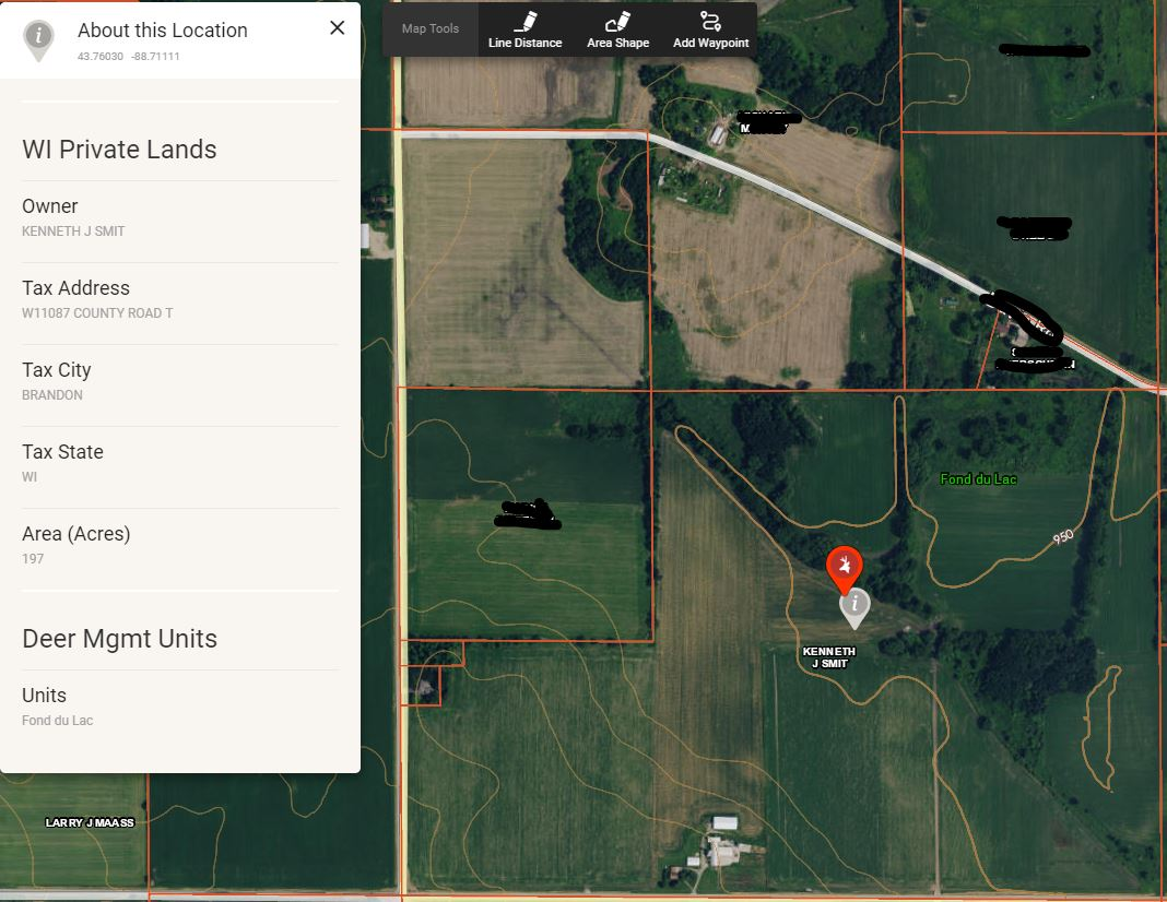 the onX Hunt App is designed to help hunters determine public and private land boundaries and displays landowner information.