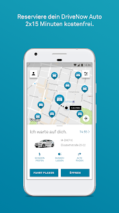 DriveNow Carsharing Screenshot
