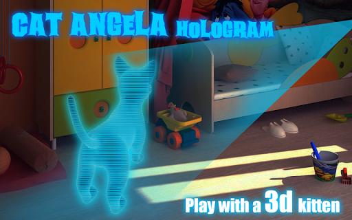 Cat Angela Hologram 3D Kids
