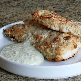 Oven Fried Fish Fillets.