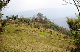 Photo: typisches Landschaftsbild im Arun  Tal