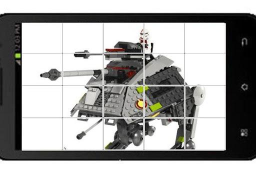 Sliding Puzzle Lego Star Wars