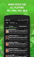 Screenshot of Fantasy Football + NFL News