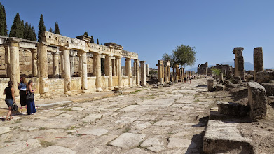 Photo: I think this was the agora. The ruins are starting to run together at this point.