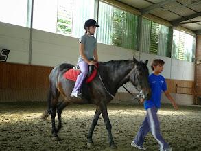 Photo: Battesimo a cavallo